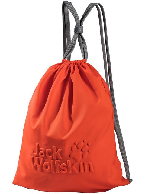 Jack Wolfskin Back Spin Logo Torba czerwony
